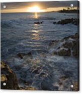 Brenneke Sunset Acrylic Print