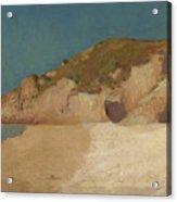Breton Coastline Acrylic Print