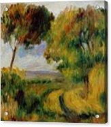 Breton Landscape Trees And Moor 1892 Acrylic Print