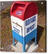 Brevard Veterans Memorial Center On Merritt Island Florida Acrylic Print