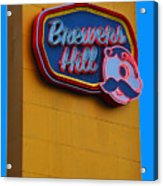 Brewers Hill Retro Acrylic Print