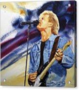 Rock On Acrylic Print