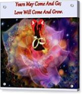 Brian Exton Night Flowers  Bigstock 164301632  231488 Acrylic Print