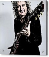 Brian May Of The Rock Group Queen Acrylic Print