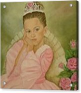 Brianna - The Princess Acrylic Print
