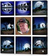 Brian's Collage 2 Acrylic Print
