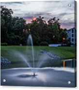 Briarcliffe Acres Sunset Acrylic Print