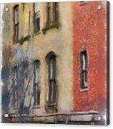 Brick Alley Acrylic Print