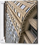 Brick And Steel And Glass Acrylic Print