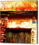 Brick And Wood By Darian Day Acrylic Print