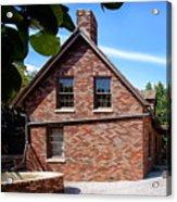 Brick House Acrylic Print