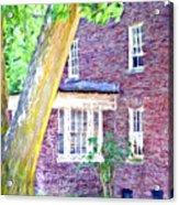 Brick House Three Acrylic Print