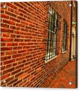 Brick Houses Acrylic Print