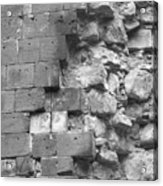 Brick Study Acrylic Print