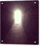 Brick Tunnel  Acrylic Print