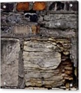 Bricks And Blocks Acrylic Print