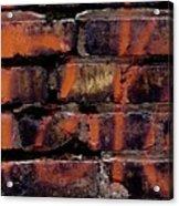 Bricks And Graffiti Acrylic Print by Tim Good