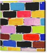 Bricks Of Life Acrylic Print