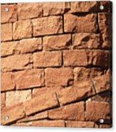 Bricks Spiraling Acrylic Print