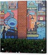 Bricktown Mosaics Acrylic Print