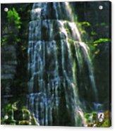Bridal Veil Falls Canvas 2 Acrylic Print