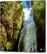 Bridal Veil Falls, Oregon Acrylic Print