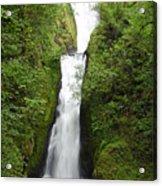 Bridal Veil Falls - Oregon Acrylic Print