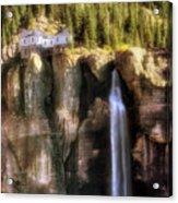 Bridal Veil Falls Power Plant - Telluride - Colorado Acrylic Print