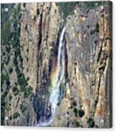 Bridalveil Falls From Above - Yosemite Acrylic Print