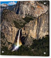 Bridalveil Falls Rainbow #3 Acrylic Print