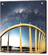 Bridge Across The Galaxy Acrylic Print
