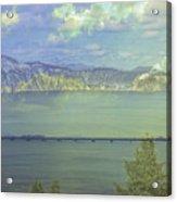 Bridge Across The  Lake Acrylic Print