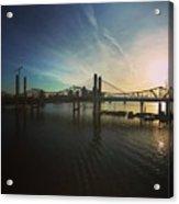Bridge And Colors Acrylic Print
