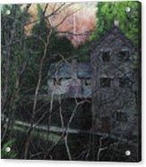 Bridge At Bontuchel Acrylic Print