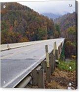Bridge At Butler Acrylic Print