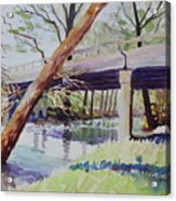 Bridge At Camp Verde Acrylic Print