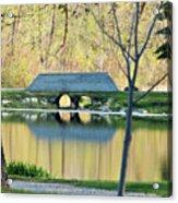 Bridge At Island Park Acrylic Print