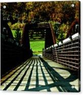 Bridge At Killington Acrylic Print