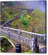 Bridge at Multnomah Falls Acrylic Print