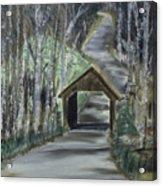 Covered Bridge Sleeping Bear Dunes  Acrylic Print