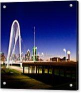 Bridge At Sunrise Acrylic Print