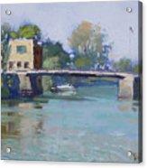 Bridge At Tonawanda Canal Acrylic Print