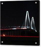 Bridge Blur - Digital Art Acrylic Print