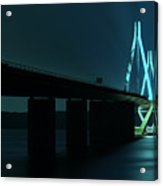 Bridge By Night Acrylic Print