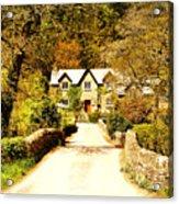 Bridge Cottage Acrylic Print