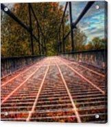 Bridge Crossing  Acrylic Print