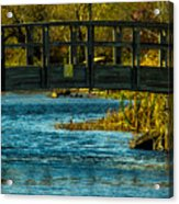 Bridge For Lovers Acrylic Print