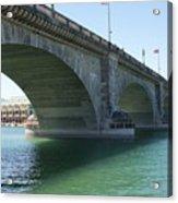 Bridge From London Acrylic Print