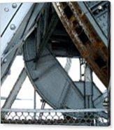 Bridge Gears Acrylic Print