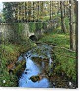 Bridge In Autunm Acrylic Print